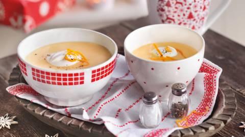Povrtna krem juha s paprom i narančom