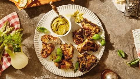 Puretina s pestom - mediteranski specijalitet s roštilja