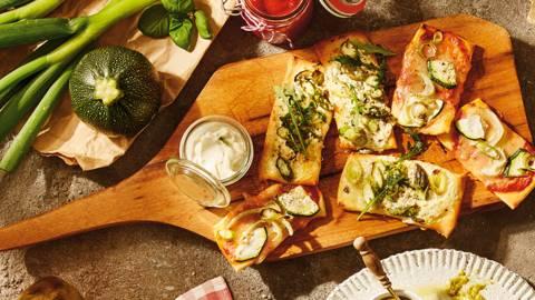 Mini-pizze s povrćem - fingerfood na talijanski način!