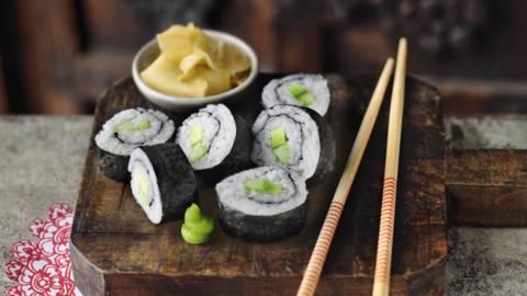 Vegetarijanski maki sushi