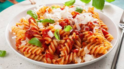 Fusilloni all'Amatricana