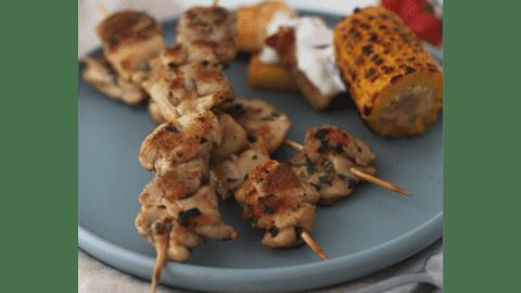 Ražnjići i palenta na roštilju by Uvijek gladna