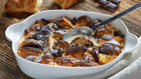 Čokoladni puding od croissanta