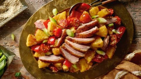 Pečena patka s thai začinima
