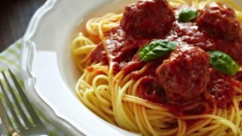 Špageti s mesnim okruglicama