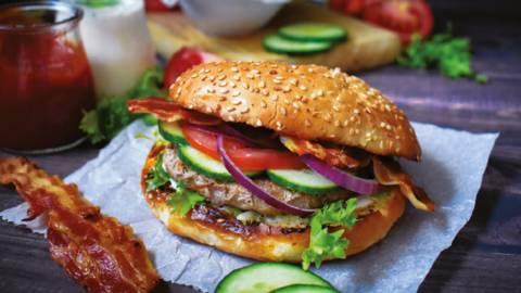 Hamburger sa grilla by Pregacha