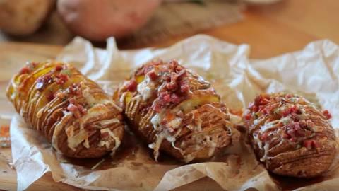 Hasellback krumpir