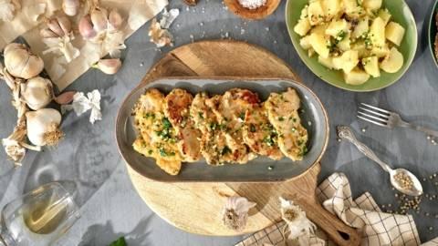 Samoborski kotlet s krumpirom | pripremio David Skoko