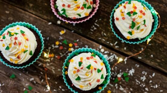 Božićni cupcakes kolačići