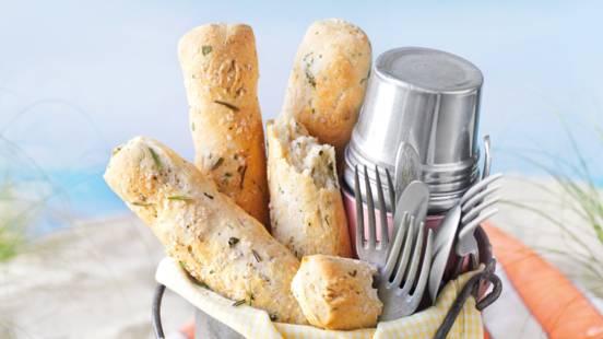 Štange kruha sa začinskim biljem