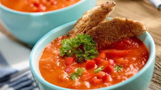 Hladna juha od rajčica i paprike