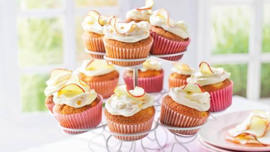 Cupcakes s jabukom i đumbirom