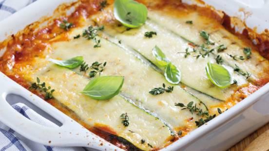 Lasagne s mesom i tikvicama