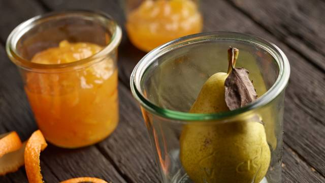 Mus od krušaka s okusom naranče