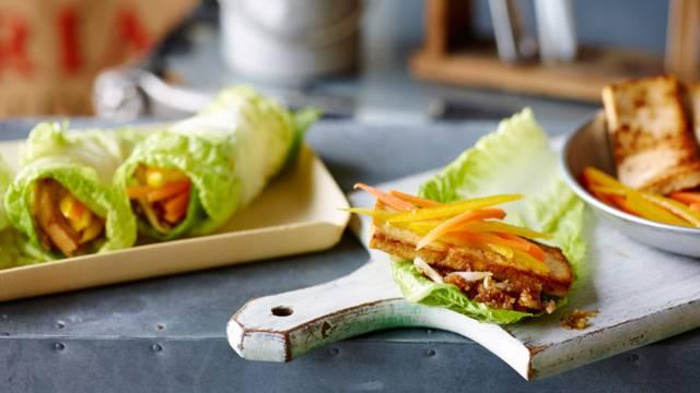 Tortilja od salate s tofuom