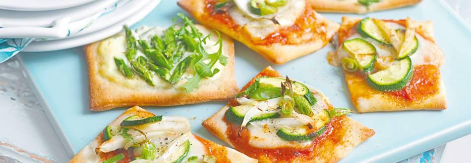 Mini pizze s povrćem