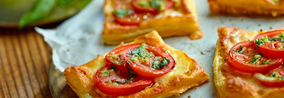 Francusko tijesto s rajčicama i mozzarellom
