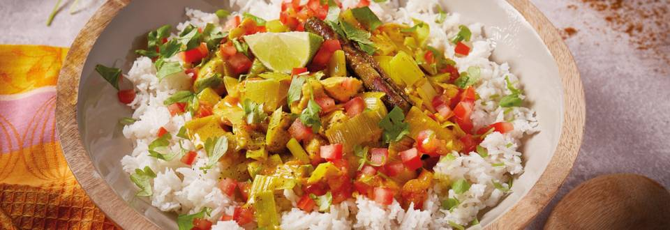 Pileći curry s basmati rižom