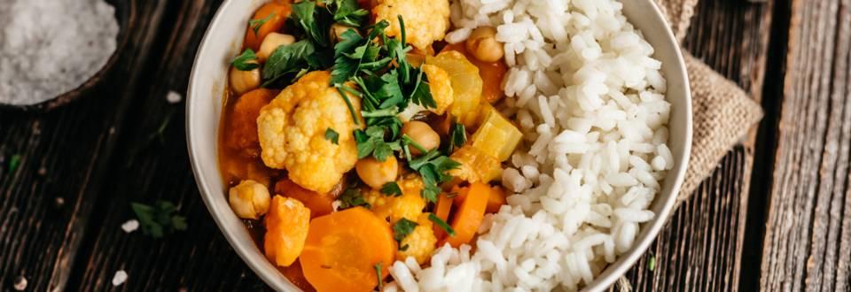 Veganski curry