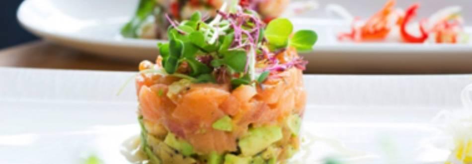 Torta od lososa i avokada