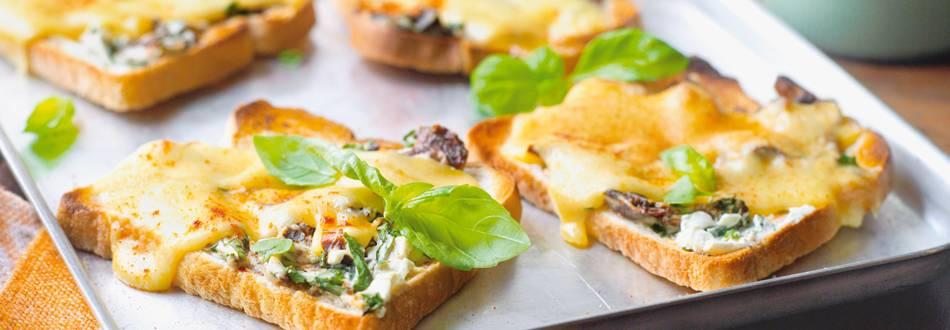 Dvostruki tost sa sirom iz pećnice